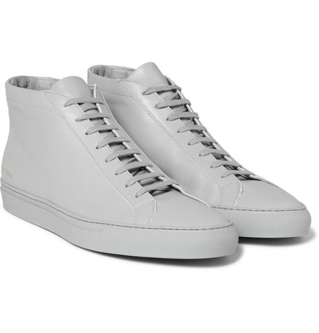 Original Achilles Leather High-top Sneakers - Light gray