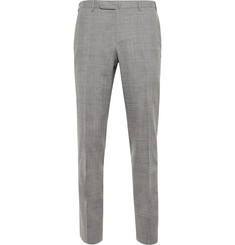 Boglioli - Grey Dover Slim-Fit Checked Wool Suit Trousers