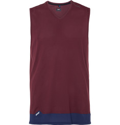 Soar Running Colour-Block Mesh Race Vest