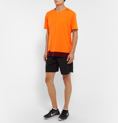 Soar Running Colour-Block Mesh T-Shirt