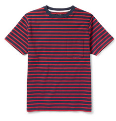 Beams Plus - Slim-Fit Striped Cotton T-Shirt