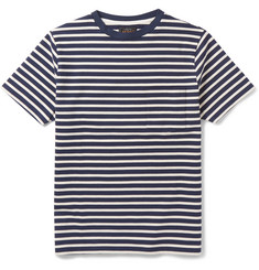 Beams Plus Slim-Fit Striped Cotton T-Shirt
