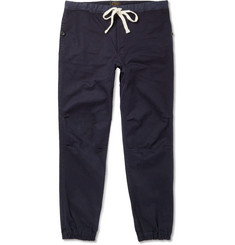 Beams Plus Slim-Fit Tapered Cotton-Blend Sweatpants