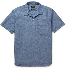 Beams Plus - Camp-Collar Cotton-Chambray Shirt