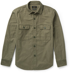 Beams Plus Slim-Fit Cotton Overshirt