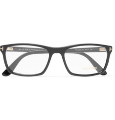 Tom Ford - Square-Frame Matte-Acetate Optical Glasses