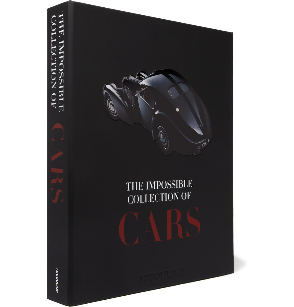 The Impossible Collection of Cars Hardcover Book