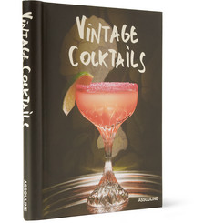 Assouline Vintage Cocktails Hardcover Book