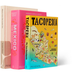 Phaidon Set of Three Books: Mexican Cookbooks