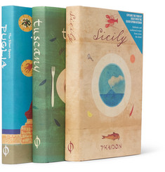 Phaidon Set of Three Books: Italian Cookbooks