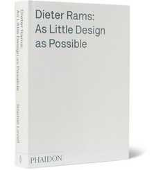 Phaidon - Dieter Rams: As Little Design as Possible Hardcover Book