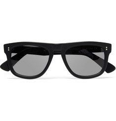 Cutler and Gross Square-Frame Matte-Acetate Sunglasses