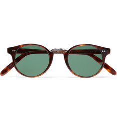 Cutler and Gross - Round-Frame Acetate Sunglasses