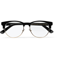 Cutler and Gross Kir Royale Acetate and Metal Optical Glasses