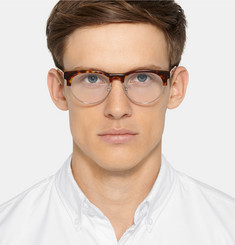 Cutler and Gross Tortoiseshell Acetate and Metal Optical Glasses