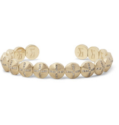 Luis Morais Gold Diamond Cuff