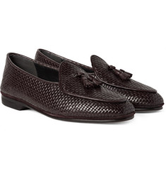 Rubinacci - Woven Leather Loafers