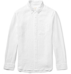 Club Monaco - Slim-Fit Button-Down Collar Linen Shirt