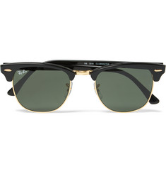 Ray-Ban - Clubmaster Square-Frame Acetate Sunglasses
