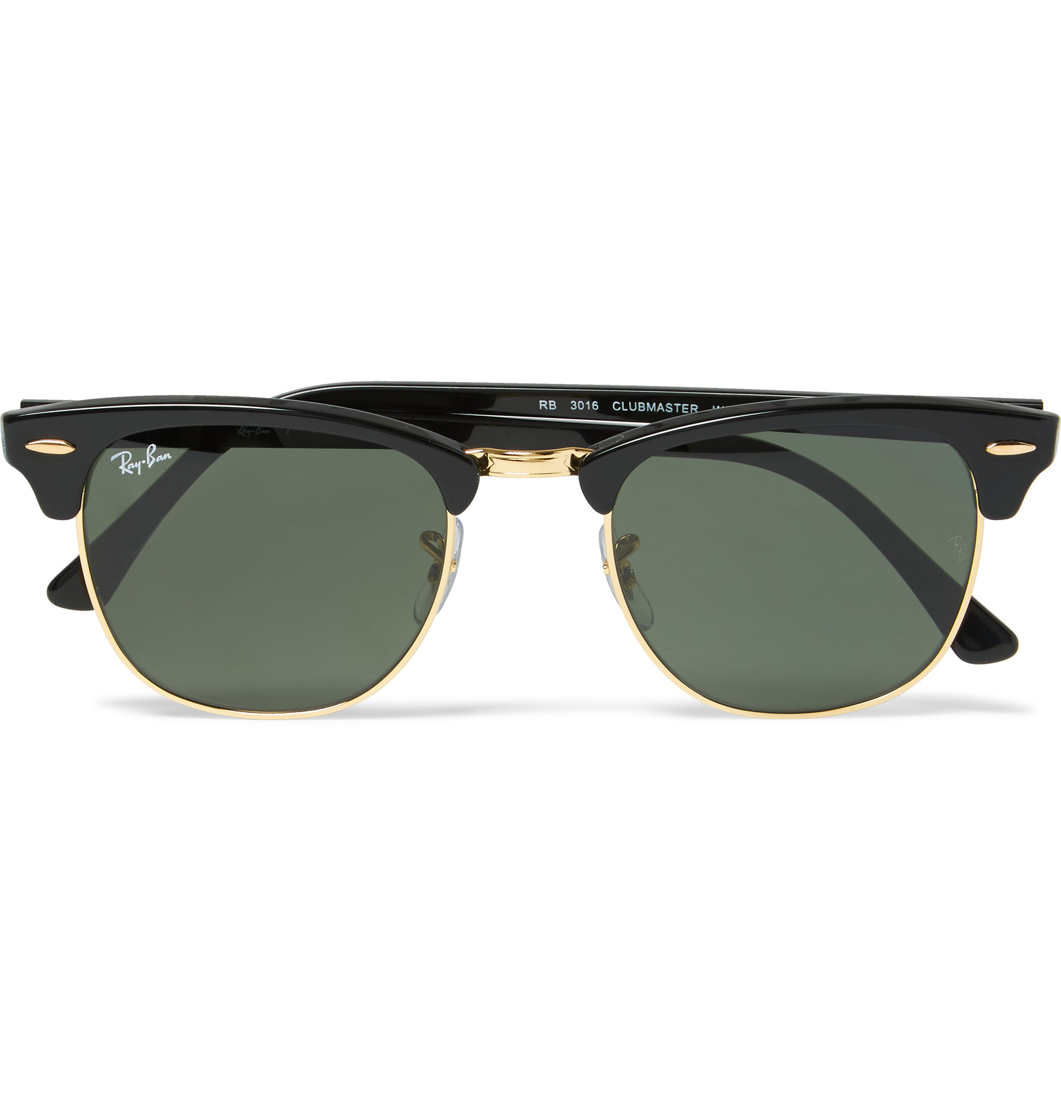 Ray Ban Rb3016 Clubmaster Sunglasses  gold and archives glasses