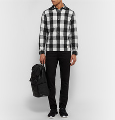 Neighborhood Slim-Fit Buffalo-Checked Cotton-Flannel Shirt