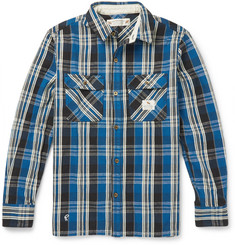 Neighborhood Slim-Fit Plaid Brushed-Cotton Shirt