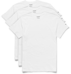Neighborhood Three-Pack Slim-Cut Cotton-Jersey T-Shirts