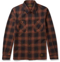 Neighborhood - Slim-Fit Checked Cotton-Flannel Shirt