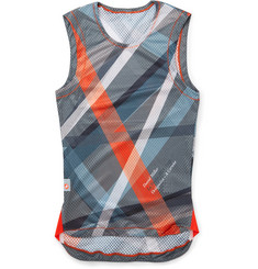 Chpt./// - 1.81 Printed Mesh Cycling Tank Top