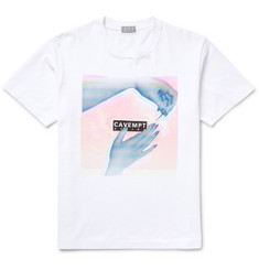 Cav Empt Embellished Cotton-Jersey T-Shirt