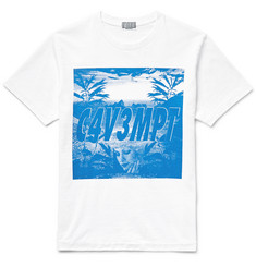 Cav Empt Printed Cotton-Jersey T-Shirt