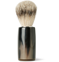 Abbeyhorn - Horn and Super Badger Bristle Shaving Brush