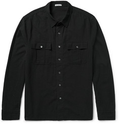 James Perse - Slim-Fit Cotton-Gauze Shirt