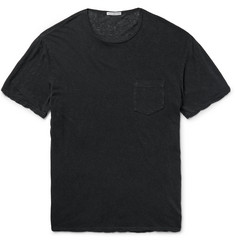 James Perse - Slub Linen and Cotton-Blend T-Shirt
