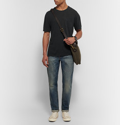 James Perse Slub Linen and Cotton-Blend T-Shirt