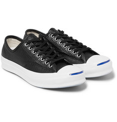Converse - Jack Purcell Signature Perforated Leather Sneakers