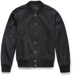 Dries Van Noten Valero Reversible Cotton-Blend Bomber Jacket