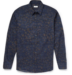 Dries Van Noten Corbin Slim-Fit Leopard-Print Cotton Shirt