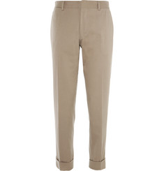 Dries Van Noten - Slim-Fit Stretch-Cotton Trousers