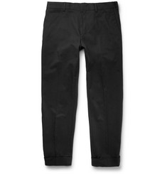 Dries Van Noten Slim-Fit Stretch-Cotton Trousers