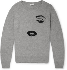 Dries Van Noten Jenci Cashmere and Wool-Blend Sweater