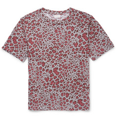 Dries Van Noten Hogan Leopard-Print Cotton-Jersey T-Shirt