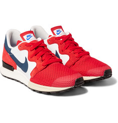 Nike - Air Berwuda Mesh and Suede Sneakers