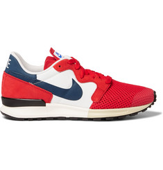 Nike Air Berwuda Mesh and Suede Sneakers