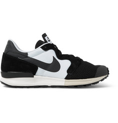Nike Air Berwuda Leather-Trimmed Mesh and Tech-Canvas Sneakers