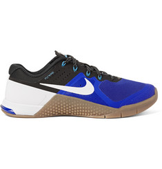 Nike Training Metcon 2 Mesh and Rubber Sneakers