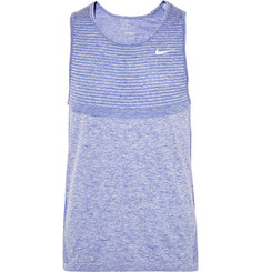 Nike Running - Mélange Knitted Dri-FIT Tank Top