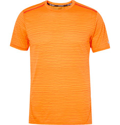 Nike Running Cool Tailwind Stripe Dri-FIT T-Shirt
