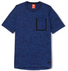 Nike Slim-Fit Knitted Cotton-Blend T-Shirt
