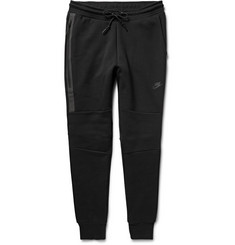 Nike - Tapered Cotton-Blend Tech Fleece Sweatpants
